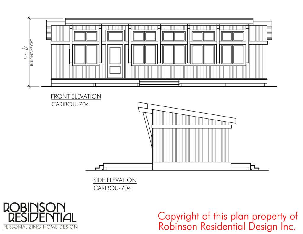 Contemporary Caribou-704