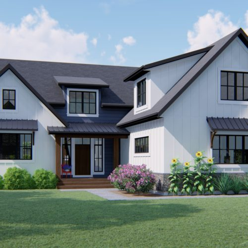 MODERN FARMHOUSE PLANS - SINTON-2904_FRONT