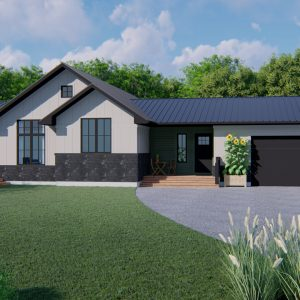 MODERN FARMHOUSE PLANS - NEEPAWA-1834