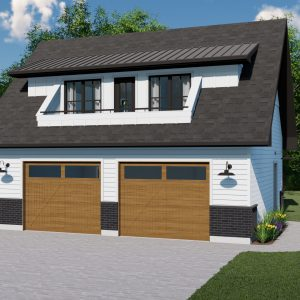 MODERN FARMHOUSE GARAGE STUDIO PLANS - MANITOU-772
