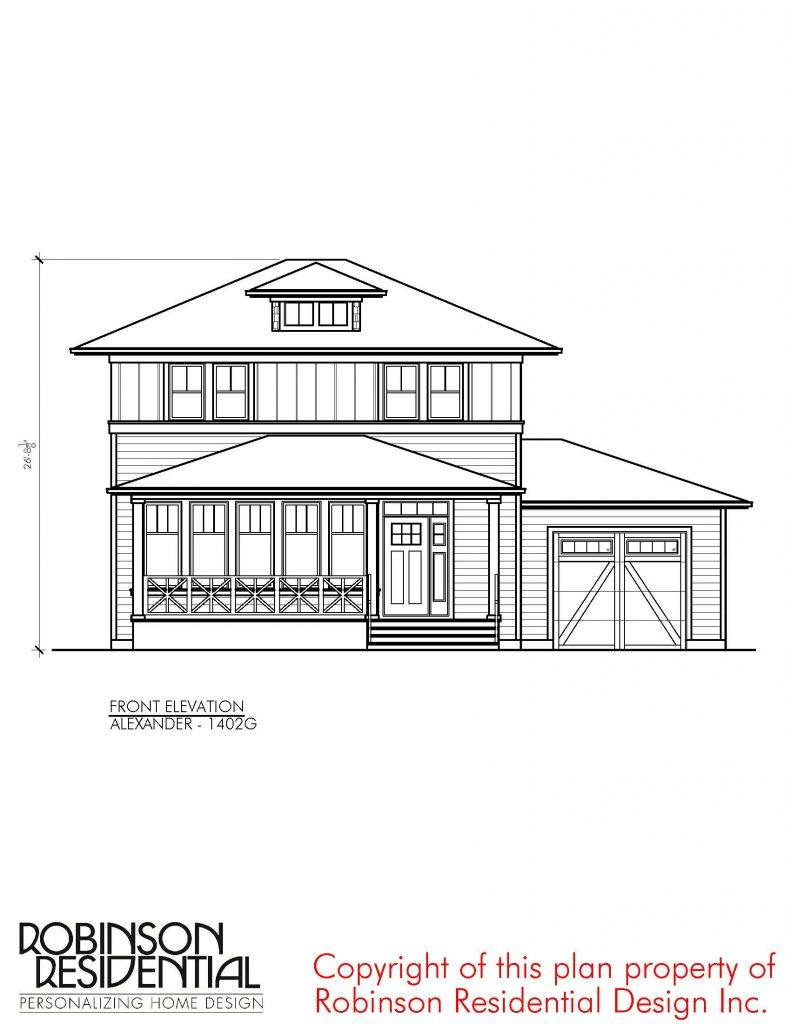 Modern Farmhouse Alexander – 1402G